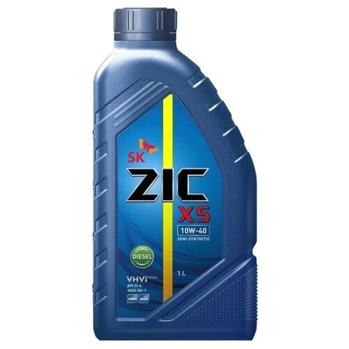 Моторное масло ZIC X5 DIESEL 10W-40 1 л