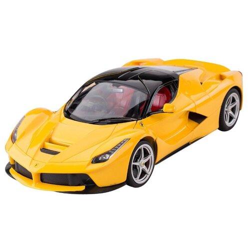 Легковой автомобиль Rastar Ferrari LaFerrari (50100) 1:14 34 см желтый легковой автомобиль rastar ferrari 458 italia 47300 1 14 32 5 см красный