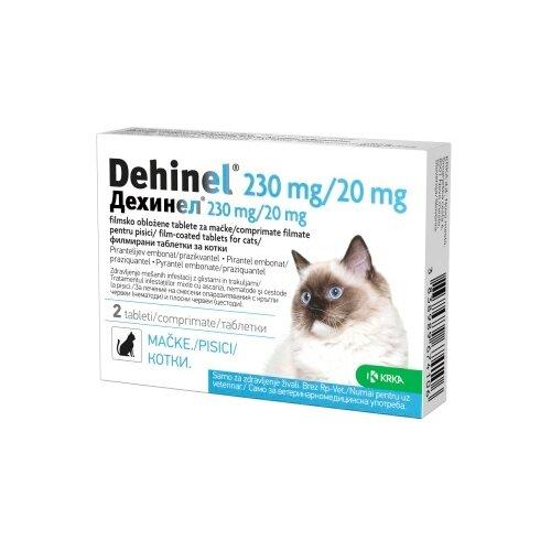 Фото - КРКА Дехинел таблетки для кошек (2 таблетки) скифф празител таблетки для кошек
