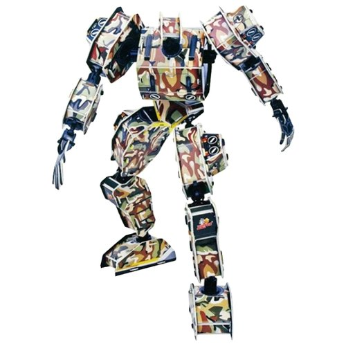 3D-пазл Zilipoo 3D Робот Зевс (A-002), 69 дет.