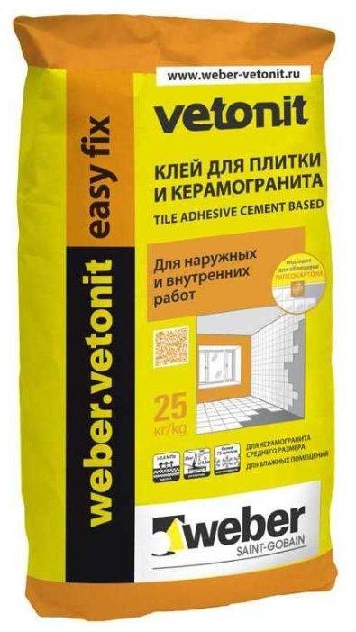 Клей Weber Easy Fix 25 кг