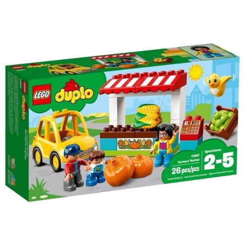 Конструктор LEGO Duplo 10867 Фермерский рынок lego duplo 10837 новый год lego