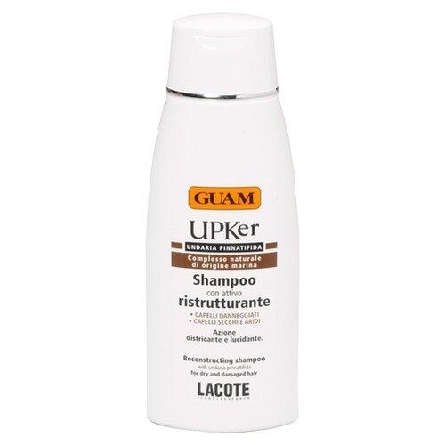 Guam шампунь Upker для восстановления сухих секущихся волос 200 мл guam шампунь для восстановления сухих секущихся волос 200 мл guam upker
