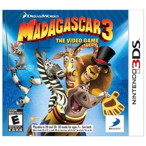 Игра для Nintendo 3DS Madagascar 3 игра для nintendo 3ds miitopia
