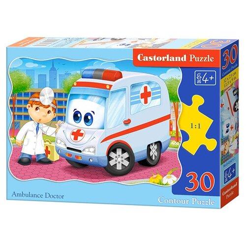 Купить Пазл Castorland Ambulance Doctor (B-03471), 30 дет., Пазлы
