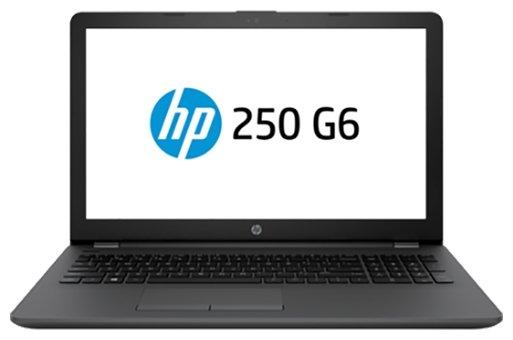 "Ноутбук HP 250 G6 (2SX58EA) (Intel Celeron N3350 1100 MHz/15.6""/1366x768/4Gb/500Gb HDD/DVD нет/Intel HD Graphics 500/Wi-Fi/Bluetooth/DOS)"