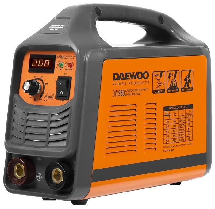Сварочный аппарат Daewoo Power Products DW 260