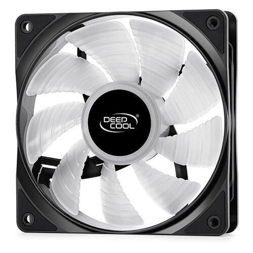 Вентилятор для корпуса Deepcool RF 120 черный/белый/RGB 1 шт.