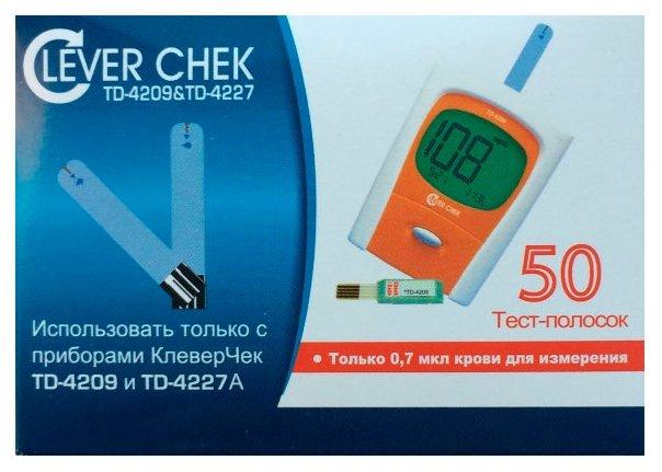 Clever Chek тест-полоски для td-4227/td-4209