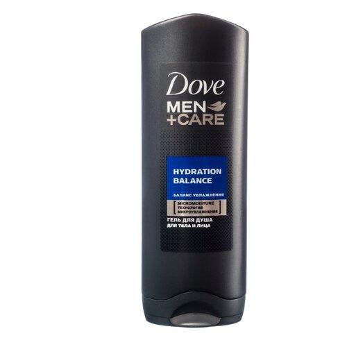Гель для душа Dove Men+Care Баланс увлажнения 250 млДля душа<br>