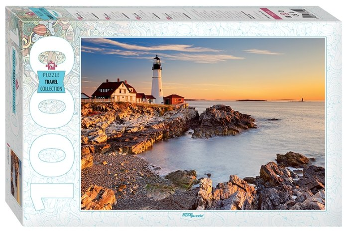 Пазл Step puzzle Travel Collection Маяк в Портленде (79119) , элементов: 1000 шт.