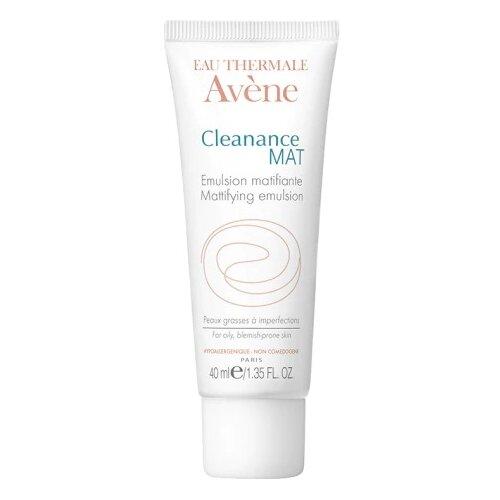 AVENE Cleanance MAT Эмульсия матирующая против жирного блеска, 40 мл avene cleanance маска купить