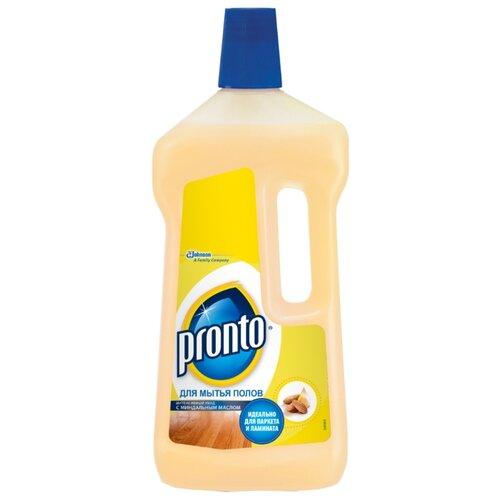 Pronto Средство для мытья полов с миндальным маслом 0.75 лДля мебели, ковров и напольных покрытий<br>