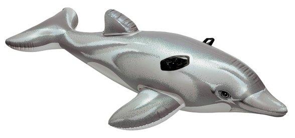 Надувная игрушка-наездник Intex Дельфин 58539