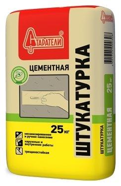 Штукатурка Старатели Цементная, 25 кг — цены на Яндекс.Маркете