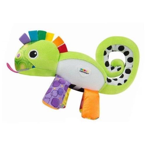 Купить Подвесная игрушка Lamaze Хамелеончик (L27169) зеленый/оранжевый/фиолетовый, Подвески