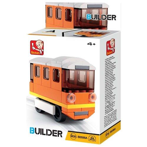 Купить Конструктор SLUBAN Builder М38-В0598A Трамвай, Конструкторы