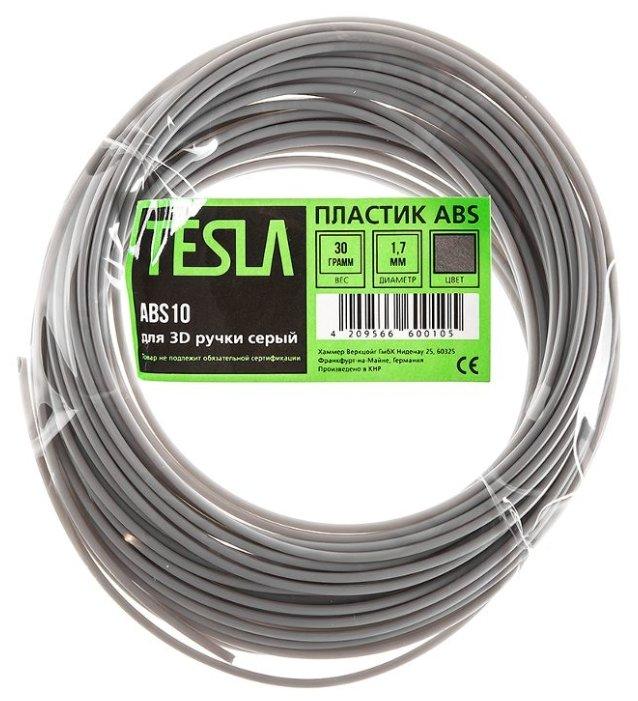 ABS пруток TESLA 1.70 мм серый
