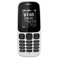 Телефон Nokia 105 (2017) белый