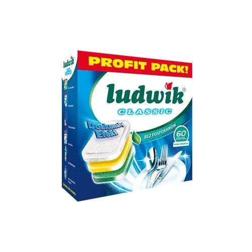 LUDWIK Classic таблетки для посудомоечной машины 60 шт.Для посудомоечных машин<br>