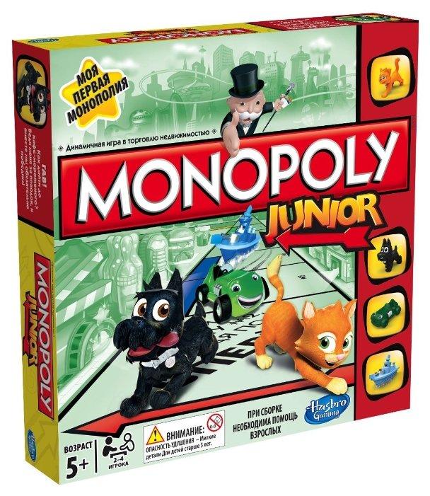 Настольная игра Hasbro games Monopoly Моя первая Монополия