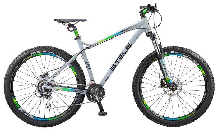 Горный (MTB) велосипед STELS Navigator 670 D 27.5+ V020 (2018)
