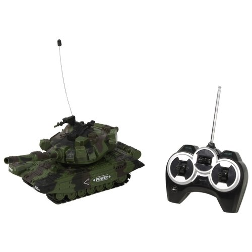 Купить Танк Mioshi Tech MT-90 (MAR1207-014) 27 см зеленый, Радиоуправляемые игрушки