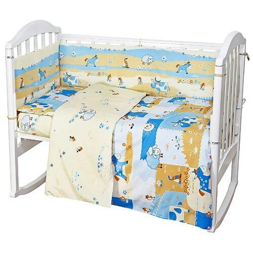 Фото - Baby Nice борт Ферма голубой аксессуары для колясок baby nice конверт baby nice с меховой подкладкой розовый