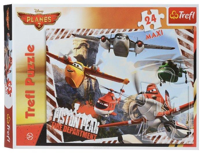 Пазл Trefl Самолеты - Пожарное депо (14216), 24 дет.