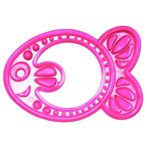 Купить Прорезыватель Canpol Babies Elastic teether 13/109 розовая рыбка, Погремушки и прорезыватели
