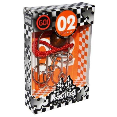 Купить Головоломка Eureka 3D Puzzle Racing Wire Puzzles 2 сложность 2 (473272) серый, Головоломки