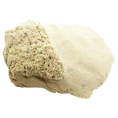 Кинетический песок LORI Домашняя песочница, морской, 0.7 кг, пластиковый контейнер lori домашняя песочница морской песок 0 7 кг