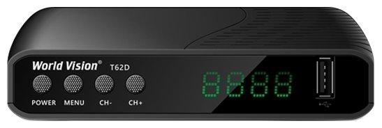 World Vision T62D DVB-T/T2/C Цифровой эфирный / кабельный приемник, приставка, ресивер