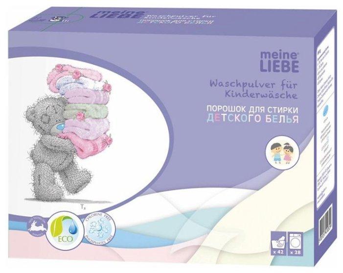 Стиральный порошок Meine Liebe Kids — купить по выгодной цене на Яндекс.Маркете