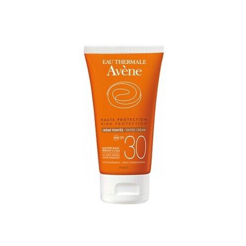 AVENE Крем солнцезащитный с тонирующим эффектом SPF 30 50 мл avene питательный компенсирующий крем 50 мл
