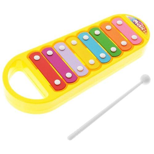 Купить DoReMi ксилофон D-00016 желтый, Детские музыкальные инструменты