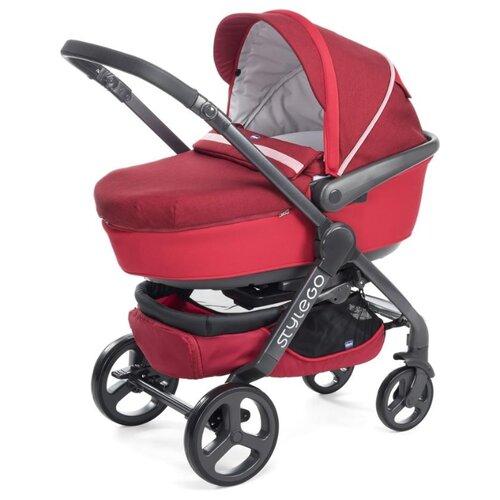 Универсальная коляска Chicco StyleGo (2 в 1) red passion
