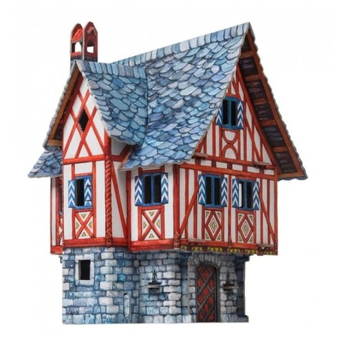 Сборная модель Умная Бумага Дом купца (379)