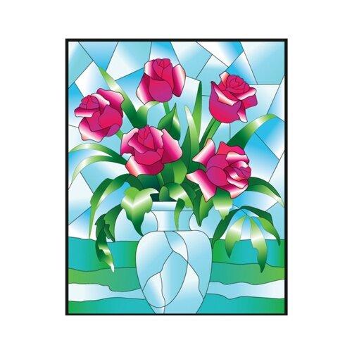 Набор для творчества Color Kit Розы HG012 12 цв.Витражная роспись<br>