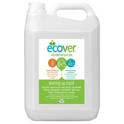 Ecover Жидкость для мытья посуды Lemon and aloe vera 5 л сменный блок