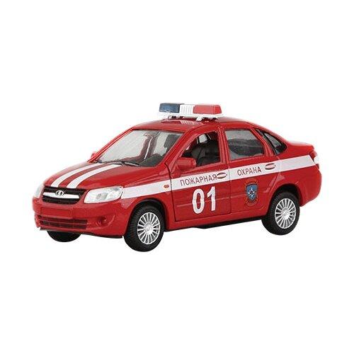Купить Легковой автомобиль Autogrand Lada Granta пожарная охрана (33953) 1:36, красный/белый, Машинки и техника
