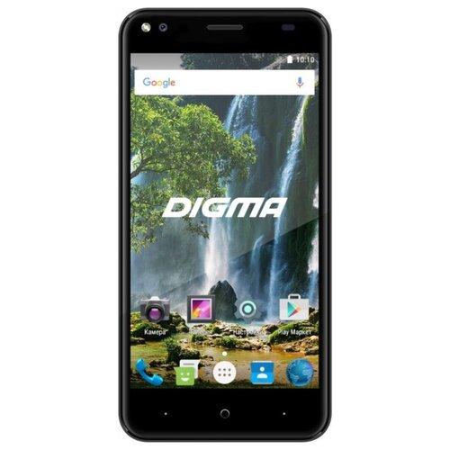 Смартфон Digma VOX E502 4G черныйМобильные телефоны<br>