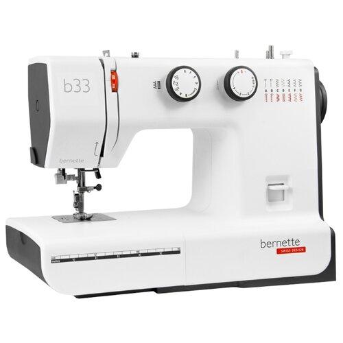 Швейная машина Bernina Bernette B33, бело-черный браслет skmei b33