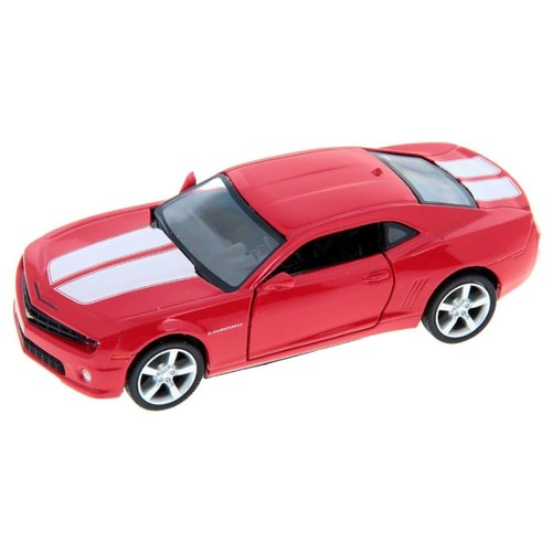 Легковой автомобиль Autogrand Top 100 Collection Chevrolet Camaro (34168) 1:32 красный top margo collection top
