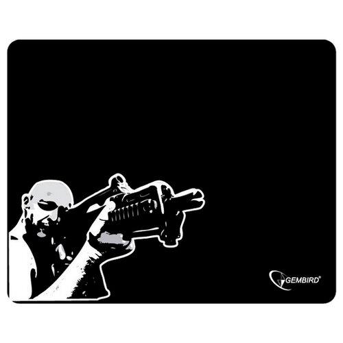 Коврик Gembird MP-GAME12 черный/снайпер