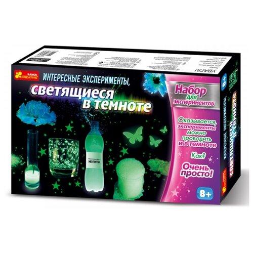 Купить Набор RANOK CREATIVE Интересные эксперименты, светящиеся в темноте, Наборы для исследований