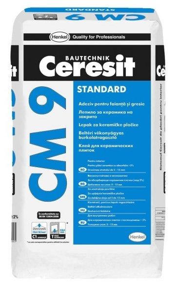 Клей Ceresit СМ 9 25 кг
