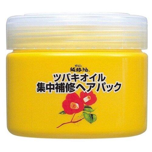 Kurobara Tsubaki Oil Концентрированная маска для восстановления поврежденных волос, 300 гМаски и сыворотки<br>