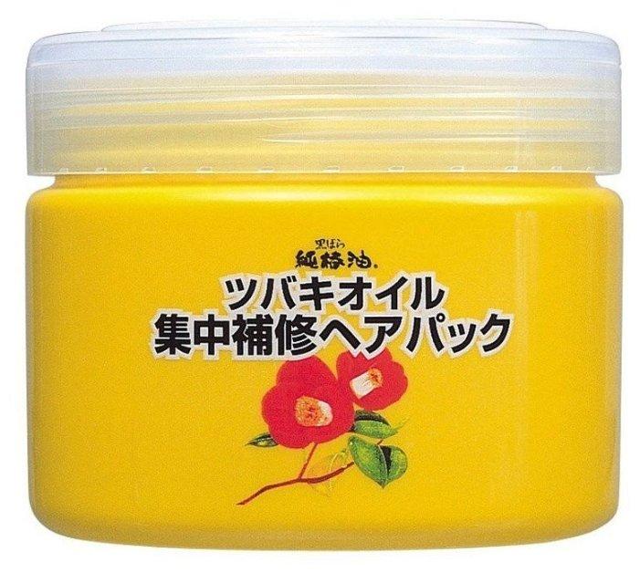 Kurobara Tsubaki Oil Концентрированная маска для восстановления