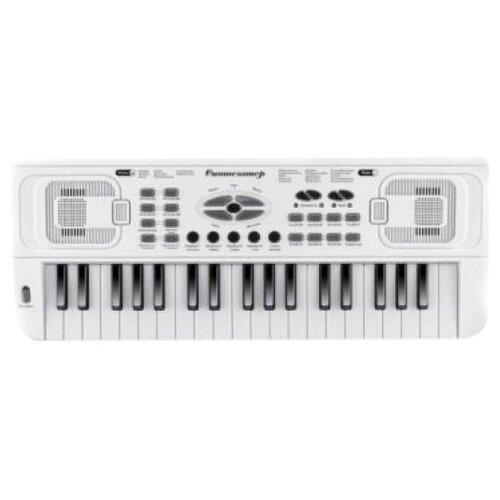 Синтезатор Shantou Gepai HS3716B белый синтезатор shantou b1549997